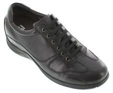 TOTO H9103 - 2.4 Inches Elevator Height Increase Casual Black Sneakers Shoes