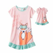 Girl 4-14 and Doll Matching Nightgown Pajama Clothes American Girls Dollie & Me
