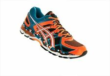 Mens' Asics  GEL-KAYANO 21 BLACK-WHITE-CAPRI BREEZE T4H2N-9001