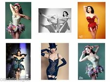 DITA VON TEESE  Burlesque choose either photoprint, transfer sticker,12 choices