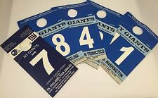 New York Giants NFL Football Big Blue 2008 & 2009 Pre-Paid Parking Permits