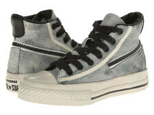 Converse John Varvatos Zip Hi Sneakers Trutledove/Black Kids 342983C NWT 12 2