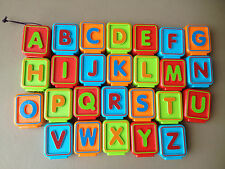 Vtech Replacement Letter Blocks Sit To Stand Alphabet Train Pick ONE BLOCK