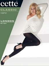 Cette London Plus Size, Footless Tights, Black Footless Tights