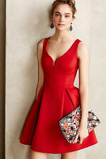 NWT $298 Anthropologie Ravine Flared Dress by Ali Ro Size 8