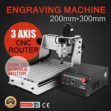 New CNC Router Engraver Milling Machine Engraving Drilling 3 Axis 3020 Desktop