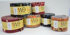 "2.5"" Aboriginal Jelly Roll Indigenous Quilting Patchwork Dreamtime Roll Strips"