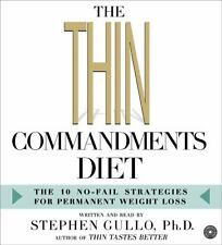 NEW The Thin Commandments Diet CD: The Ten No-Fail Strategies for Permanent Weig