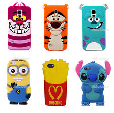 3D Cartoon Stitch Despicable Me Silicone Case Back Cover Skin for Mobie Phone