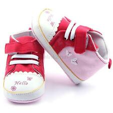 Lovely Toddler Kids Baby Girl Butterfly Soft Sole Crib Shoes Canvas Sneaker E25
