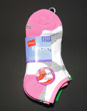 Hanes Womens Sport Low Cut Socks 3 Pack Multicolored Size 5-9 NWT