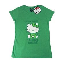 Womens Hello Kitty Lucky T-Shirts Size Extra Small