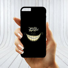 We're All Mad Here Cheshire Cat Alice In Wonderland Disney Hard Phone Cover Case