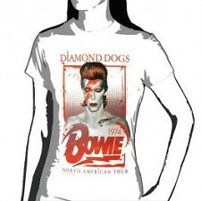David Bowie - Diamond Dogs Tour 1974 - Womens Short Sleeve T-Shirt