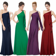 Ever Pretty Women Long One Shoulder Evening Prom Cocktail Party Prom Dress 09463
