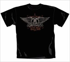 AEROSMITH - FADED WINGS - OFFICIAL MENS T SHIRT
