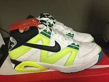 Mens Nike Air Tech Challenge III 3 Andre Agassi Volt White Black 749957-100