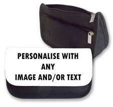 Personalised Pencil Case/Makeup Bag. Personalise With Any Image and Name/Text