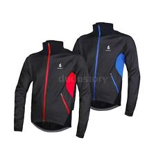 HOT WOLFBIKE Fleece Thermal Winter Cycling Jacket Windproof Bicycle Jersey DU