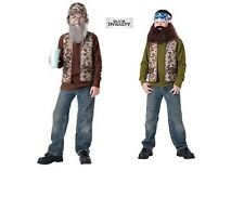 NWT CHILD DUCK DYNASTY COSTUME - BEARD - WILLIE OR UNCLE SI - TELEVISION SERIES