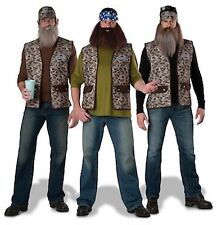NWT ADULT DUCK DYNASTY COSTUME - BEARD - WILLIE, JASE,  UNCLE SI - TV SERIES