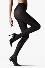 Falke Warm Deluxe Tights, XL Available, Luxury Black Opaque Tights
