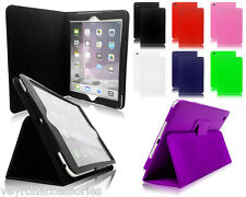 Magnetic Leather PU Folio Folding Stand Cover Case For Apple iPad Mini 1 2 & 3