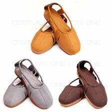 Zen Buddhist Meditation Temple Clergy Monk High Quality Shoes Arhat Footwear
