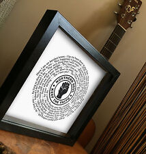 NORTHERN SOUL - ANY FAVOURITE SONG CHOICE 7 vinyl record PRINT Father's day gift