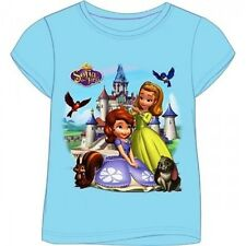 NEW DISNEY SOFIA  GIRL'S T-SHIRT IN GIFT PACK AGE-18/24 Months, 2/3, 3/4, 5/6