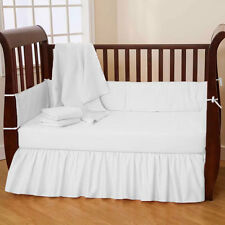 Baby Crib Bedding Set Fitted Pillow cover Bumper Comforter- 4PC Set