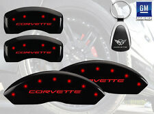 Custom Paint 1997-04 Chevrolet Corvette Base MGP Brake Caliper Cover Font Rear