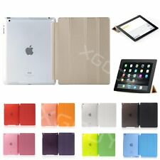 Pu Leather Smart Cover Case for Apple iPad 4 3 2 | iPad Air | Air 2 |  iPad mini