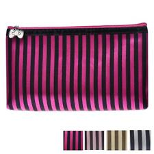 Striped Travel Cosmetic Bag Girl Fashion Multifunction Makeup Bag Storage Pouch