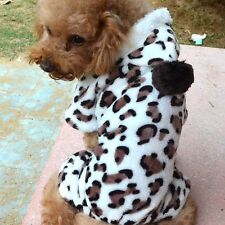 Pet Dog Puppy Cat Warm Winter Soft Sweater Hoodie Costumes Apparel Coat Clothes