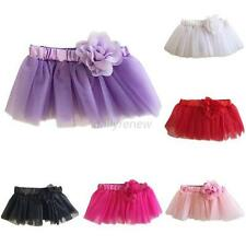 Girl Baby Kids Tulle Tutu Party Ballet Dance Wear Dress Pettiskirt Costume Skirt