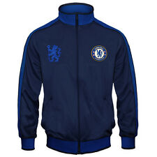 Chelsea FC Official Football Gift Boys Retro Track Top Jacket