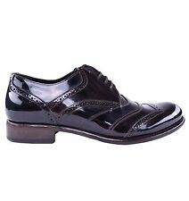 DOLCE & GABBANA Patent Leather Shoes Brown 03889