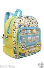 Primark Despicable Me Minions back to School Stationary Backpack Pencil Case