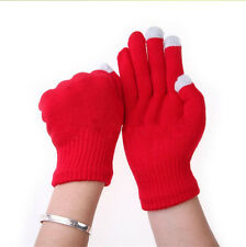 Soft Winter Unisex Touch Screen Gloves Texting Capacitive Smartphone Knit New