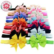 Baby Girls Bow Hairband Soft Elastic Headband Gifts Hair Accessories Band