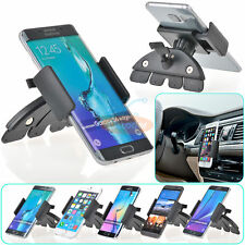 Car CD Dash Slot Mount Holder Dock For iPhone 7/7 Plus Samsung Note5 S7/S7 Edge