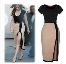 Sexy Women Celeb Casual Slim Bodycon Evening Party Cocktail Pencil Mini Dress