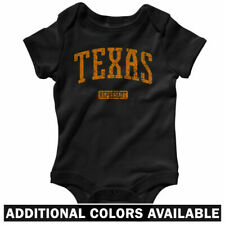 Texas Represent One Piece - Longhorns A&M Baby Infant Creeper Romper - NB to 24M