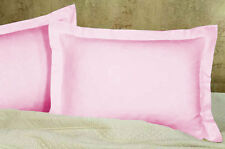 2pc Pillow Shams 800tc egyptian cotton Solid Choose Size & Color