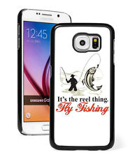For Samsung Galaxy S7 S4 S5 S6 Edge + Mini Active Hard Case 199 Fly Fishing