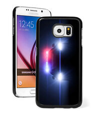 For Samsung S7 S4 S5 S6 Edge+ Mini Active Hard Case Cover 815 Police Car Lights