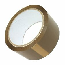 ECONOMY BROWN PACKAGING PACKING PARCEL TAPE 50MM X 66M - SELECT QUANTITY