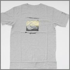QUIKSILVER Mens T-Shirt *Size:S * New GREY Short Sleeve Top_Genuine Brand