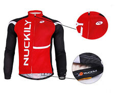 Men Cycling Jersey Bike Bicycle Clothing Long Sleeve Jersey Top Breathable M-XXL